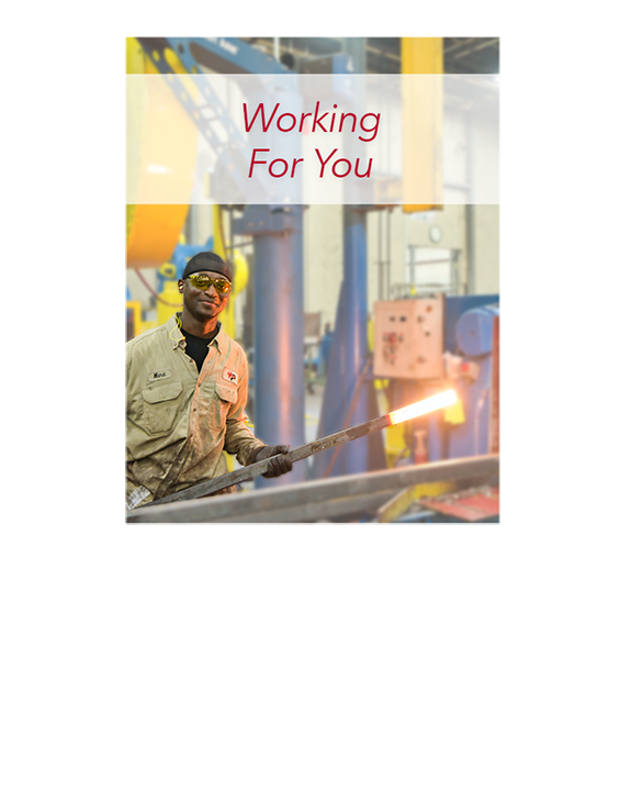 Employee Manufacturing Steel Electric Utility Products In the USA